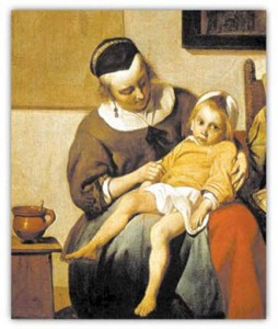 Image of a mother and child
